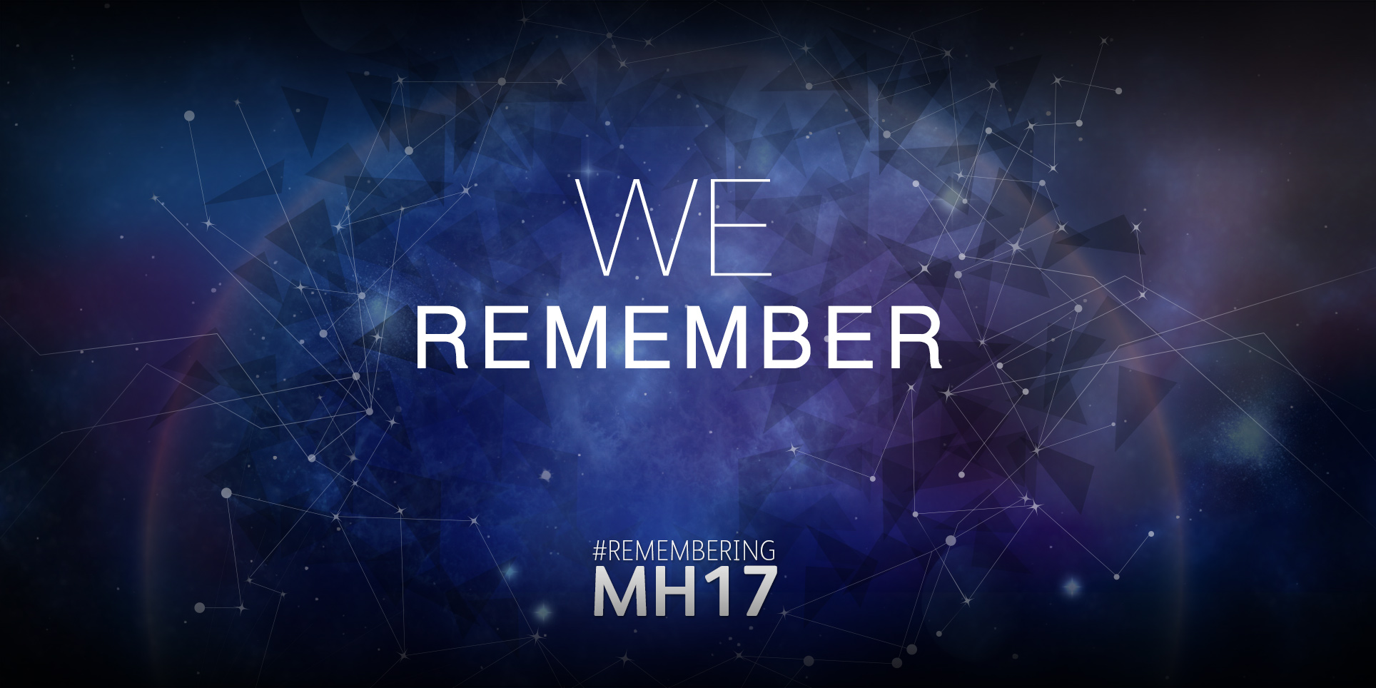 We Remember : MH17